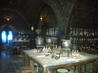 Visite des studios harry potter le cin ma de freddy for Salle a manger harry potter