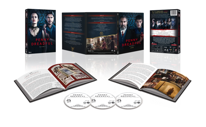 PENNY DREADFUL SAISON 1 - DVD - 3D OUVERT - 3333973203015