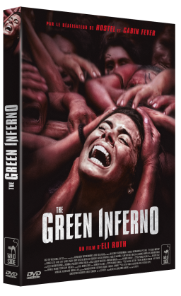 3D FOUR DVD THE GREEN INFERNO